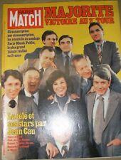 Paris Match N° 1501 3 mars 1978 Jean Cau La télé Poivre d'Arvor Pivot Chancel ..