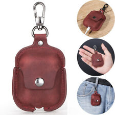 Vintage Genuine Leather Airpods Earphone Protective Cover Case For AirPod iPhone