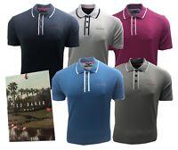 Ted Baker Golf Bunka Tipped Golf Polo Shirt RRP£89 - M L XL XXL - 1st Class Post