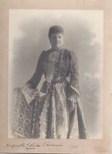 RARE SIGNED PHOTO PRINCESS AUGUSTA SAXE-WEIMAR DUKE OF RICHMOND & LENNOX 1901