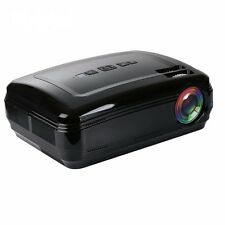 NEW! Smart Pro LED Home Theater 3D Projector Android 6.0 HD 1080P Quad Core