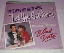 BLIND DATE KIM BASINGER BRUCE WILLIS 45rpm w/P.SLEEVE BILLY VERA AND THE BEATERS