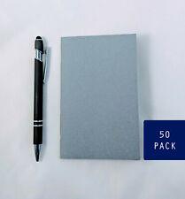 Bulk Gray Notebooks, 3.5 x 5.5 Inch, Journals, Sketchbook, Small Blank Journals