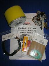 Carburador adecuado para Honda GX390 Filtro de aire Bujía Service Info VVD