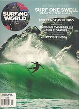 SURFING WORLD AU Australia #323 March 2012 Surf Tahiti to Alaska India Travel Ed