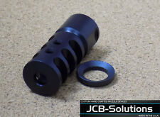 1/2 28  .223  5.56 muzzle brake  with free crush washer. Custom Made