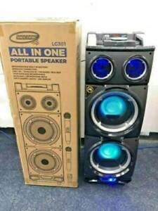 Portable Entertainment ALL IN ONE Party Speakers 400W - NEW