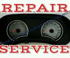 2006 - 2010 FORD EXPLORER, EXPEDITION  INSTRUMENT CLUSTER REPAIR SERVICE reman