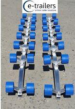 GECKO ALLOY 28 ROLLER SLIDE SYSTEM 4 BOAT & JET SKIS - BUNK TO ROLLER CONVERSION
