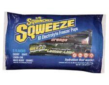 Sqwincher Sqweeze Electrolyte Freezer Pop In Assorted Berry Flavors 10 Count