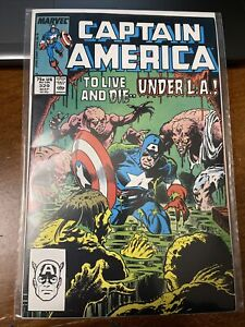 Captain America #329 (May 1987, Marvel) VF/NM