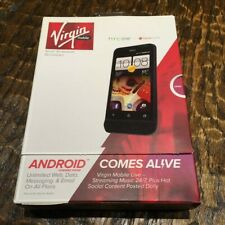 Brand new, Sealed. Virgin Mobile HTC One Android Phone Beats Audio Speaker Sound