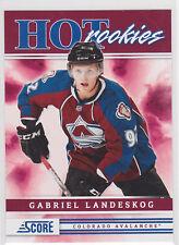 2011 11-12 Score #553 Gabriel Landeskog HR SP RC Rookie Short Print