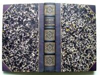 1839 DUCIS CHENIER POESIES LETTRES THEATRE GRAVURE JOLI  LIVRE RELIE BOOK LITTER