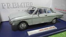 AUDI 100 LS 1972 gris echelle 1/18 de PREMIER SIGNATURE 38211 voiture miniature