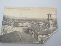 Carte Postale Vintage Shipped Figline Valdarno 1915