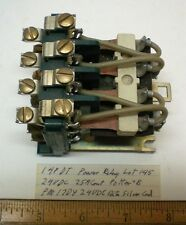 1 Potter Brumfield # PM17DY24VDC, 24V 4PDT 25A Cont. Power Relay Lot 145, USA