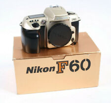 Nikon F60 35mm Film camera Body Only  - Ideal Student Camera BOXED