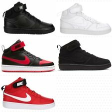 Nike Court Borough 2 Mid Basketball Shoes Sneakers Kids Boys Girls Grade School
