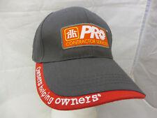 Pro Contractor Home Hardware baseball cap hat adjustable v gentek
