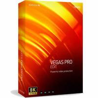 Magix Vegas Pro 18 Edit Academic HD Video Editing NEW Full Version Download