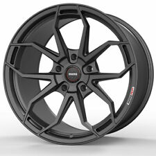 "19"" MOMO RF-5C Gray 19x9 19x11 Concave Wheels Rims Fits Infiniti G35 Coupe"