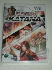Wii SAMURAI WARRIORS KATANA ORIGINALE VERSIONE ITALIANA NUOVO & OVP SAMURAI combattimenti