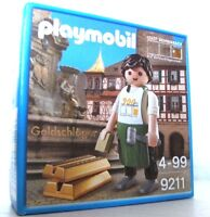 Playmobil Goldschläger 9211 Neu & OVP Schwabach limitiert Promo MIB MISB