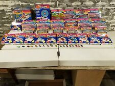 MICRO MACHINES HUGE LOT OF 29 UNOPENED IN BOX INDIVIDUAL PIECES PLUS 18 CARS