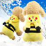 LOT Puppy Pet Dog Cat Clothes Hoodie Winter Warm Sweater Coat Costume Apparel