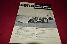 Ford 4500 Loader Backhoe Tractor Dealer's Brochure LCPA3