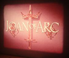 16mm Feature Movie – Joan of Arc – Stars: Ingrid Bergman, José Ferrer  100 min