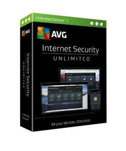 AVG Internet Security 2021 - Unlimited Device / 1-Year - Global - CD