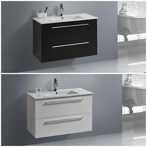 Unterschrank OPORTO 60/90 cm mit Waschtisch Badmöbel Hängeschrank Waschbecken