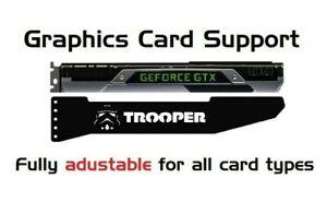 STORM TROOPER - LED RGB GPU Anti-Sagging Support Bracket Brace NVIDIA AMD