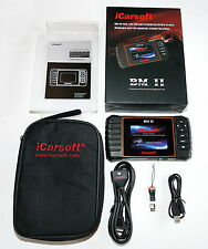 ICARSOFT BMII BM II DIAGNOSTIC SCANNER BMW MINI READ OIL RESET ABS SRS I910