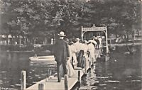 MADISON WISCONSIN~ARRIVALS AT ESTHER BEACH~ROTOGRAPH PUBL PHOTO POSTCARD