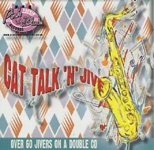CAT TALK 'N' JIVE 2CD - 61 tracks 1950s Rock 'n' Roll Rockabilly 2-CD double NEW
