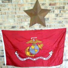 Annin Flagmakers Marine Corps Military Flag 43005 Nyl-Glo