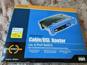 Linksys EtherFast Cable DSL Router with 4 Port Switch