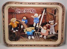 Cabbage Patch Kids Metal Tv Tray 1984 Original Appalachian Artworks Vintage