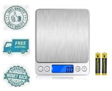 New Mini Digital Kitchen Scales Portable Small Electronic Weighing LCD Display