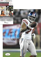 Osi Umenyiora New York Giants signed autographed 8x10 JSA COA
