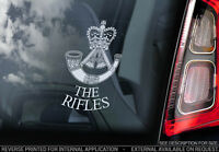 The Rifles - Car Window Sticker - British Army Forces Infantry Regiment Decal V1