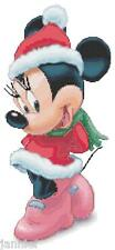 "Disney's ""Christmas Holidays"" Minnie Mouse Cross Stitch Pattern CD Fantasy"
