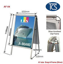 TCS A1 Double Snap A Frame Board Display Sign Poster Stand 32mm FREE SHIPPING
