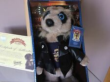 COMPARE THE MEERKAT VASSILY BOXED WITH CERTIFICATE Still Attached to Box