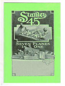 Stanley 45 Combination Plane Manual UK Post Free