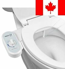 Greenco Fresh Water Spray Non-Electric Mechanical Bidet Toilet Seat Attachment