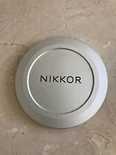 Nikon Nikkor 95N Chrome Screw-In Lens Cap.